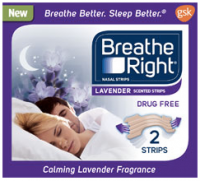 "View the ""Breathe Right FREE Lavender or Extra Clear Strips Sample (Freebie)"" coupon page"