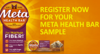 "View the ""Metamucil FREE Meta Health Bar Sample (Freebie)"" coupon page"