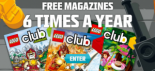 "View the ""LEGO or LEGO Jr. Magazine FREE 2-Year Subscription (Freebie)"" coupon page"