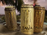 "View the ""Java Monster FREE Energy Drink or Collectible Cup (Freebie via Facebook)"" coupon page"