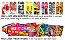 "View the ""J Skis FREE Stickers (Freebie)"" coupon page"