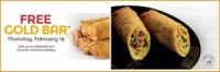 "View the ""Panda Express GRATIS Egg Roll (Freebie)"" página de cupones"