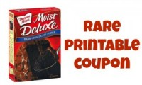 "View the ""Duncan Hines $1 OFF any 2 Product (Printable Coupon)"" coupon page"