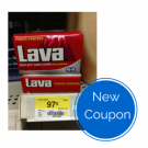 "View the ""Lava $0.55 OFF Product (Printable Coupon)"" coupon page"